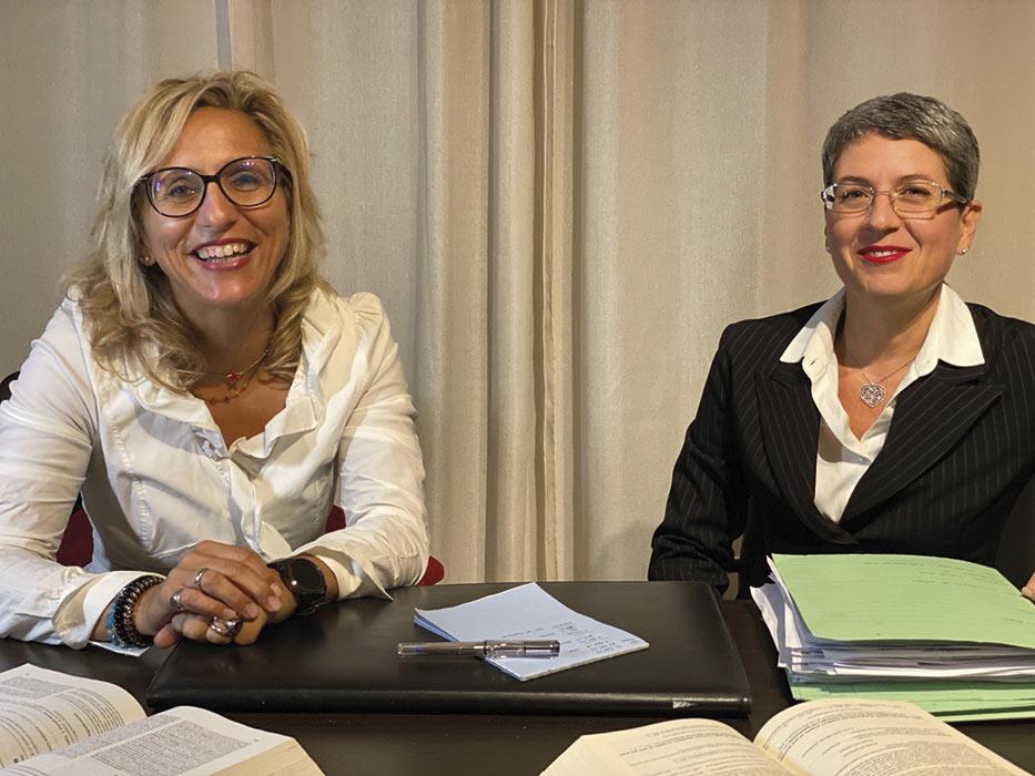 avv Sabrina Boghetti e avv Cristina Guerci